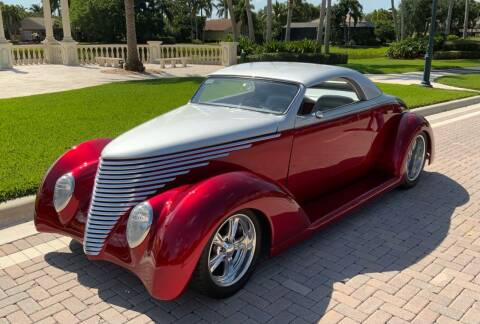 1937 Ford STREET ROD for sale at Suncoast Sports Cars and Exotics in West Palm Beach FL