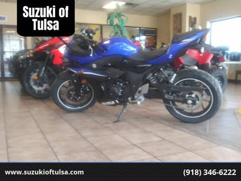 2020 Suzuki GSX-250R for sale at Suzuki of Tulsa in Tulsa OK