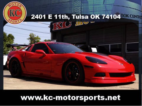 2008 Chevrolet Corvette for sale at KC MOTORSPORTS in Tulsa OK