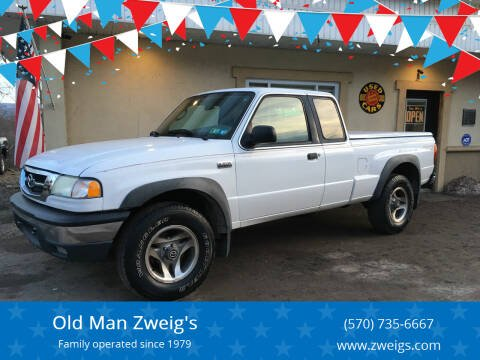 2002 Mazda Truck for sale at Old Man Zweig's in Plymouth Township PA