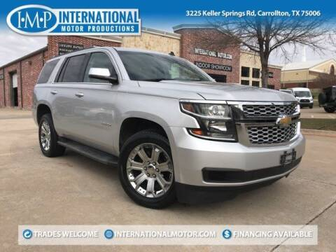 2015 Chevrolet Tahoe for sale at International Motor Productions in Carrollton TX