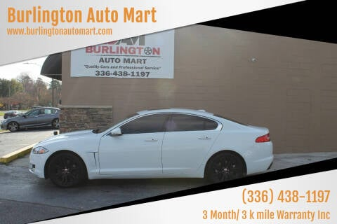 2012 Jaguar XF for sale at Burlington Auto Mart in Burlington NC