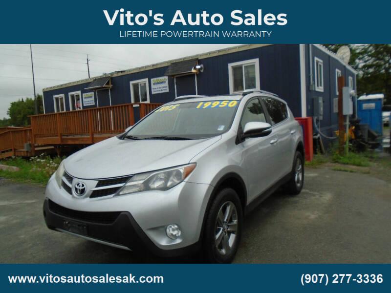 2015 Toyota RAV4 for sale at Vito's Auto Sales in Anchorage AK