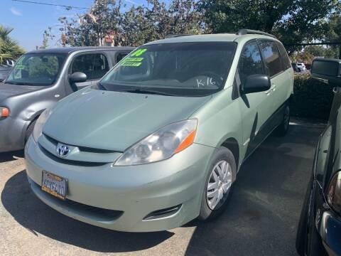2008 Toyota Sienna for sale at Contra Costa Auto Sales in Oakley CA