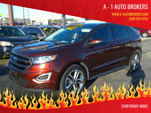 2015 Ford Edge for sale at A - 1 Auto Brokers in Ocean Springs MS