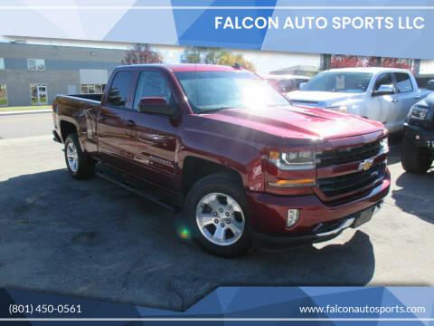 2017 Chevrolet Silverado 1500 for sale at Falcon Auto Sports LLC in Murray UT