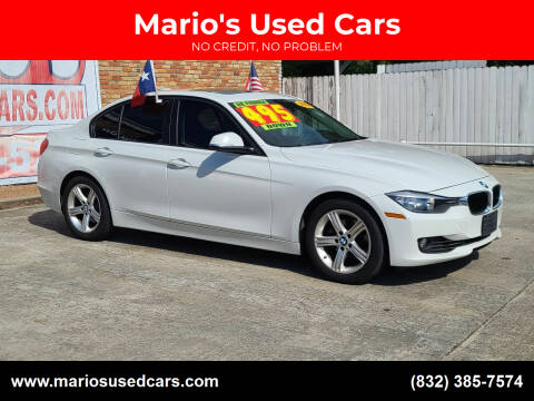 2014 BMW 3 Series for sale at Mario's Used Cars - South Houston Location in South Houston TX