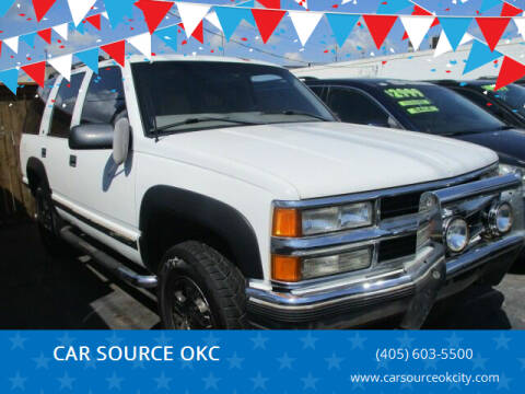 1999 Chevrolet Tahoe for sale at Car One - CAR SOURCE OKC in Oklahoma City OK