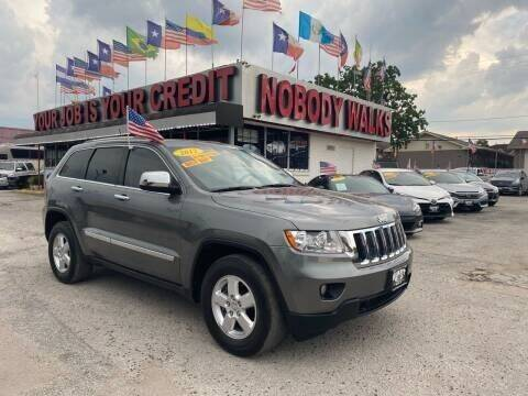 2012 Jeep Grand Cherokee for sale at Giant Auto Mart 2 in Houston TX