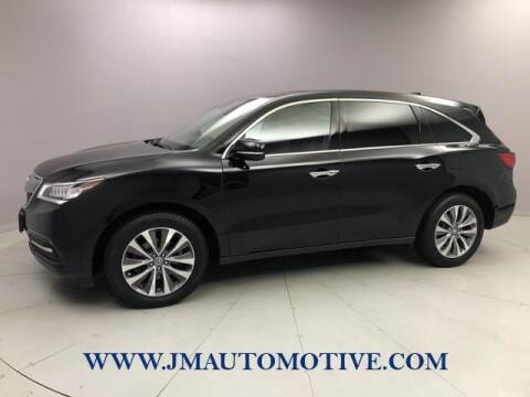 2016 Acura MDX for sale at J & M Automotive in Naugatuck CT