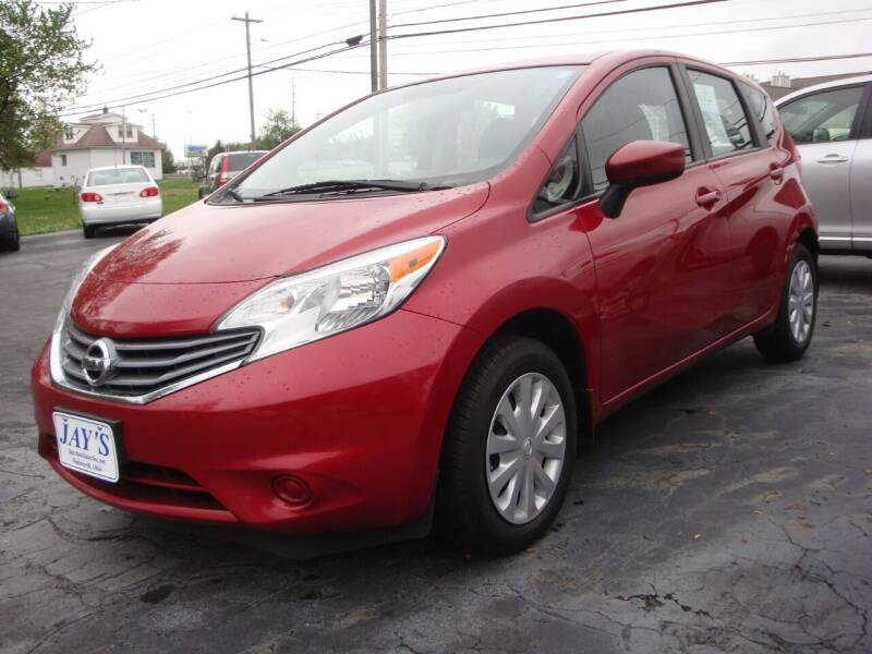 2015 Nissan Versa Note for sale at Jay's Auto Sales Inc in Wadsworth OH