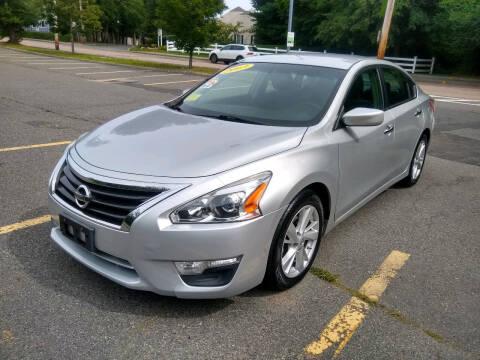 2013 Nissan Altima for sale at Washington Street Auto Sales in Canton MA