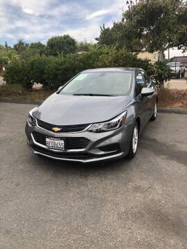 2018 Chevrolet Cruze for sale at North Coast Auto Group in Fallbrook CA