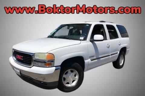 2005 GMC Yukon for sale at Boktor Motors in North Hollywood CA