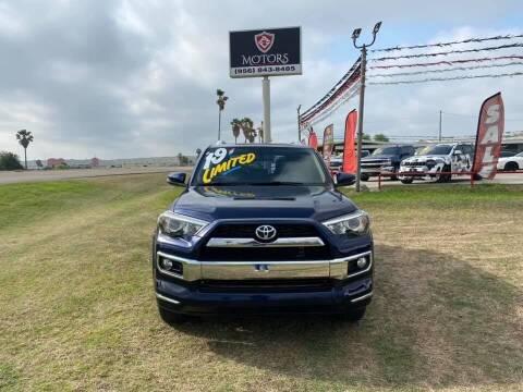 2019 Toyota 4Runner for sale at A & V MOTORS in Hidalgo TX