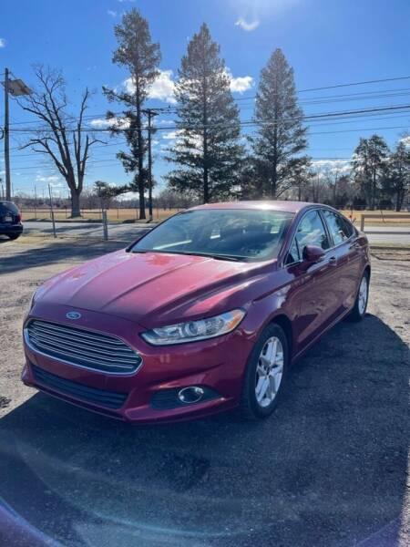 2014 Ford Fusion for sale at Hamilton Auto Group Inc in Hamilton Township NJ