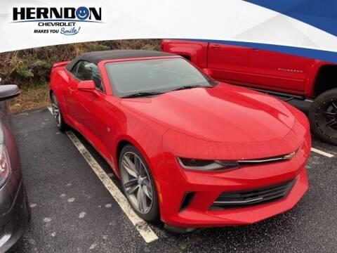 2018 Chevrolet Camaro for sale at Herndon Chevrolet in Lexington SC