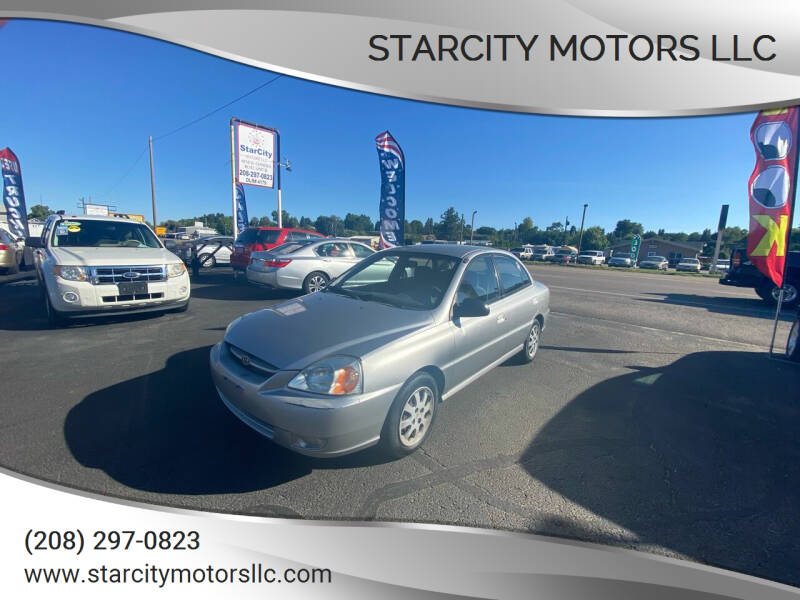 2005 Kia Rio for sale at StarCity Motors LLC in Garden City ID