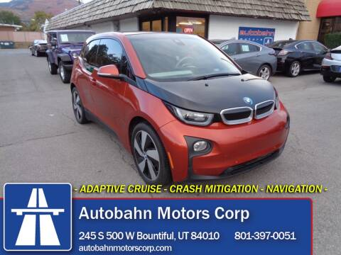 2014 BMW i3 for sale at Autobahn Motors Corp in Bountiful UT