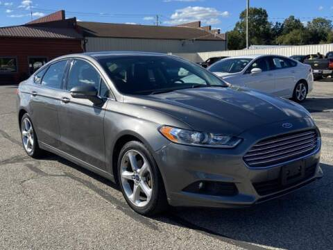 2014 Ford Fusion for sale at Miller Auto Sales in Saint Louis MI