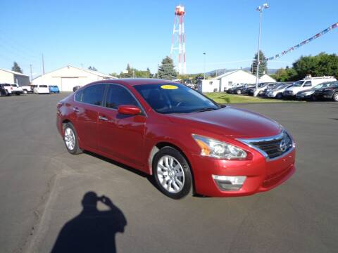 2015 Nissan Altima for sale at New Deal Used Cars in Spokane Valley WA