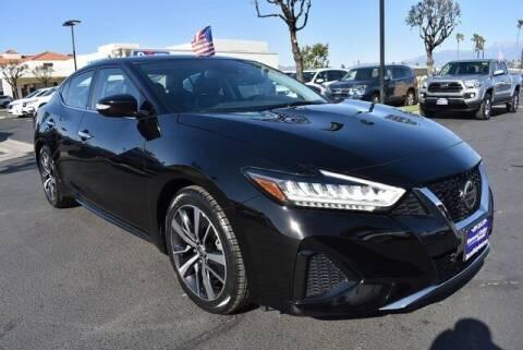 2020 Nissan Maxima for sale at DIAMOND VALLEY HONDA in Hemet CA