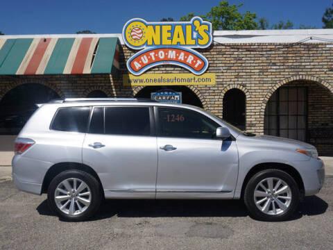 2013 Toyota Highlander Hybrid for sale at Oneal's Automart LLC in Slidell LA