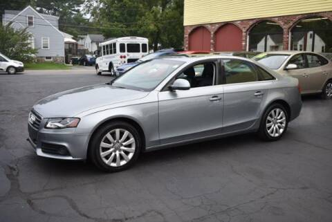 2009 Audi A4 for sale at Absolute Auto Sales, Inc in Brockton MA