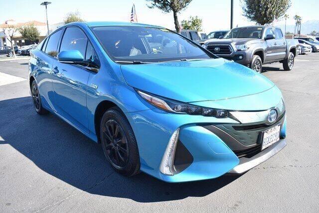 2018 Toyota Prius Prime for sale at DIAMOND VALLEY HONDA in Hemet CA