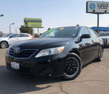 2011 Toyota Camry for sale at LUGO AUTO GROUP in Sacramento CA