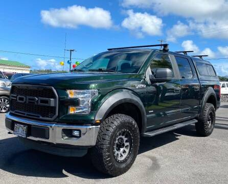 2016 Ford F-150 for sale at PONO'S USED CARS in Hilo HI