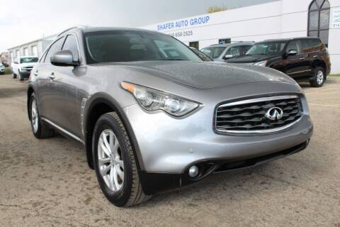 2011 Infiniti FX35 for sale at SHAFER AUTO GROUP in Columbus OH