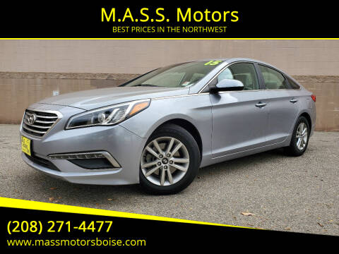 2015 Hyundai Sonata for sale at M.A.S.S. Motors in Boise ID