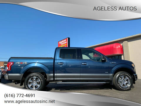 2017 Ford F-150 for sale at Ageless Autos in Zeeland MI
