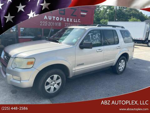 2008 Ford Explorer for sale at ABZ Autoplex, LLC in Baton Rouge LA