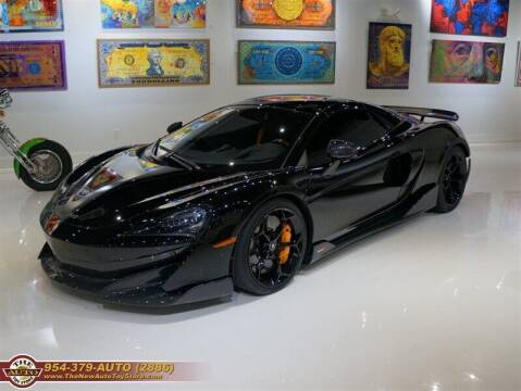 2020 McLaren 600LT Spider for sale at The New Auto Toy Store in Fort Lauderdale FL