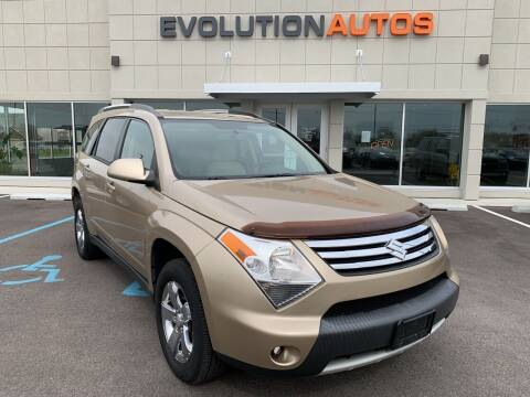2008 Suzuki XL7 for sale at Evolution Autos in Whiteland IN