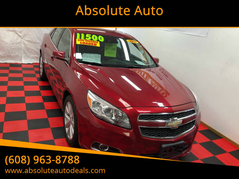 2013 Chevrolet Malibu for sale at Absolute Auto in Baraboo WI