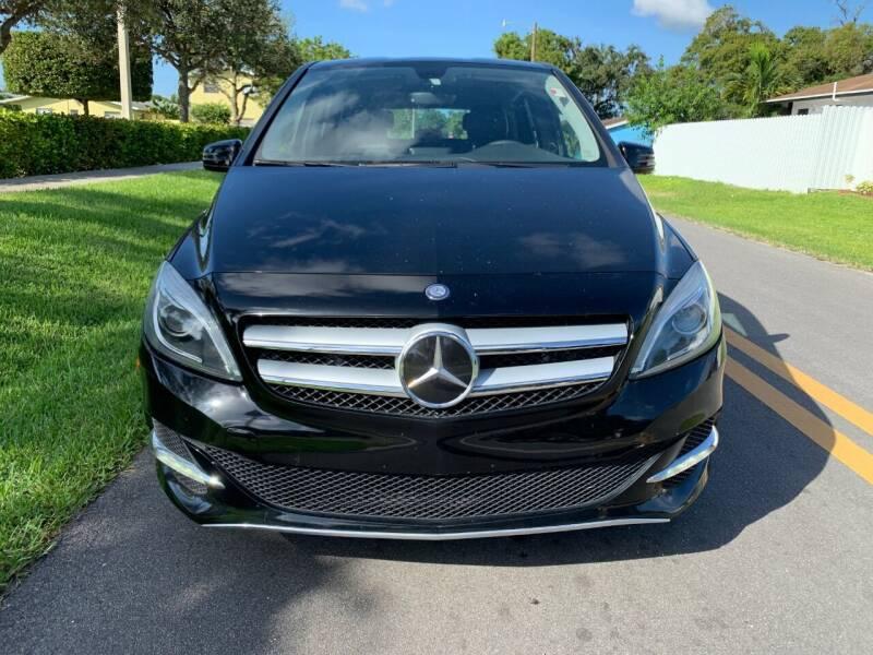 2014 Mercedes-Benz B-Class Electric Drive 4dr Hatchback - Davie FL