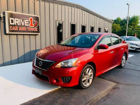 2014 Nissan Sentra for sale at Drive 1 Car & Truck in Springfield OH