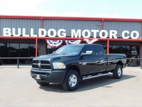2018 RAM Ram Pickup 3500 for sale at Bulldog Motor Company in Borger TX