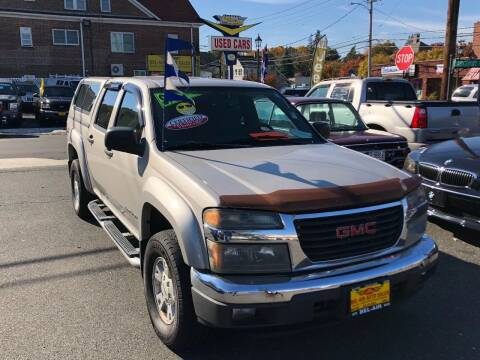 2005 GMC Canyon for sale at Bel Air Auto Sales in Milford CT