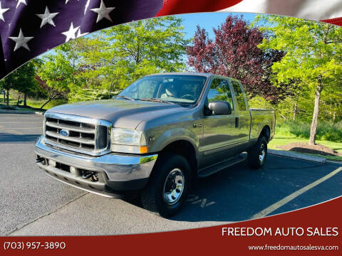 2002 Ford F-250 Super Duty for sale at Freedom Auto Sales in Chantilly VA