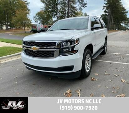 2019 Chevrolet Tahoe for sale at JV Motors NC LLC in Raleigh NC