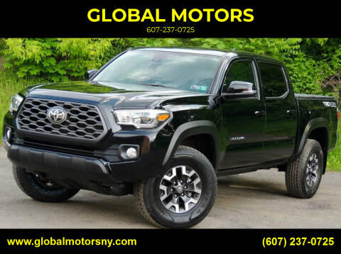 2020 Toyota Tacoma for sale at GLOBAL MOTORS in Binghamton NY