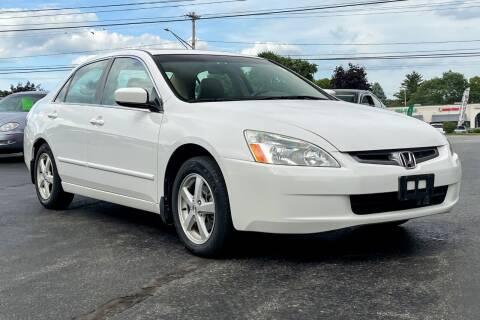 2005 Honda Accord for sale at Knighton's Auto Services INC in Albany NY