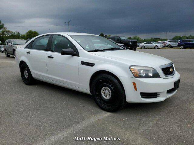 2014 Chevrolet Caprice for sale at Matt Hagen Motors in Newport NC