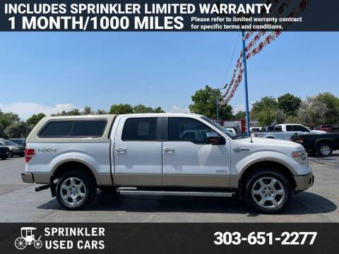 2013 Ford F-150 for sale at Sprinkler Used Cars in Longmont CO