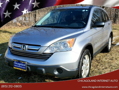 2007 Honda CR-V for sale at Chicagoland Internet Auto - 410 N Vine St New Lenox IL, 60451 in New Lenox IL
