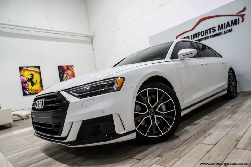 2020 Audi A8 L for sale at AUTO IMPORTS MIAMI in Fort Lauderdale FL